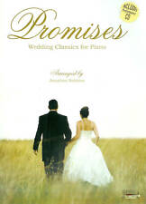 50%OFF! PROMISES WEDDING CLASSICS PIANO SONG BOOK with CD KEYBOARD SONGBOOK