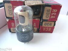 930 RCA photocell VALVOLA TUBE nn. 1