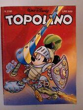 Topolino n.2160 -22 Aprile 1997- Edizioni Walt Disney