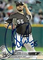 Carlos Rodon Chicago White Sox 2018 Topps Signed Card