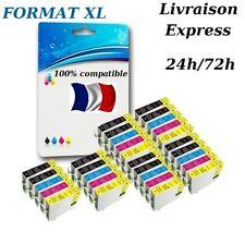 Cartouches d'encre compatibles non-OEM pour Epson XP-212 XP-215 XP-225 XL