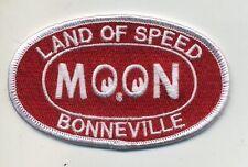 Bonneville Moon patch badge land of speed mooneyes hot rod drag race