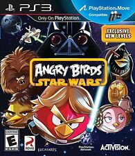 Angry Birds Star Wars PS3 NEW!! MOVE COMPATIBLE! LIGHTSABER, FAMILY GAME NIGHT!