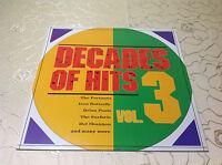 "VARIOUS (LP) ""DECADES OF HITS VOL.3""[RARE GER BELLAPHON ""BADFINGER SURFARIS..]M-"