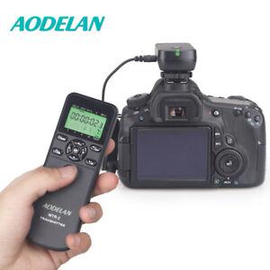 Universal 2.4G Camera Wireless Timer Remote Shutter Release For Canon Nikon Sony
