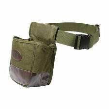 Double Compartment Bag Trap Shooter's Range Skeet Shooting Sniper Heavy Canvas
