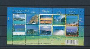 LO29594 Thailand views landscapes good sheet MNH