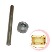 12mm Messing Pilz Split Nieten Gegabelt Kegel Kopf Knöpfe Leder 50 Stück