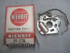 New Ball Bearing Breaker Plate Assy. Niehoff FF-17A Ford Mercury Lincoln V-8