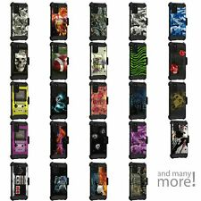 For Samsung Galaxy S20 PLUS (6.7) Triple Layer Holster Belt Clip Case