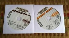 2 CDG SET ROCK,POP KARAOKE BRUNO MARS/MAROON 5 2011/2012 CD+G LOT ($39.99)