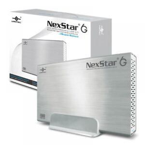 """Vantec NexStar 6G 3.5"""" SATA III 6 Gb/s to USB 3.0 External Hard Drive Enclosure"""