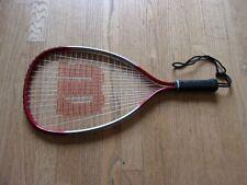 """Wilson Dimension Titanium 22"""" Racquetball Racket - Xs 3 7/8"""""""