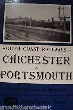 VIC MITCHELL KEITH SMITH RAILWAY BOOK TRAIN LINE TRAIN CHICHESTER PORTSMOUTH