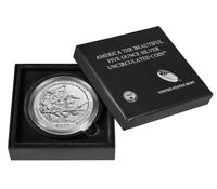 2017 P George Rogers Clark 5 oz Uncirculated Silver CoinIndiana ATB Park w/ OGP