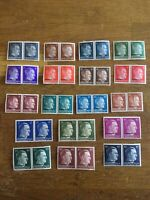Nazi Germany UKRAINE overprint Third Reich Adolf Hitler stamps MNH 18 X Blocks