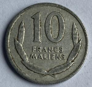 Mali 10 Francs Maliens 1961 (KM#3)