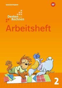 Denken und Rechnen 2. Arbeitsheft. Allgemeine Ausgabe   Ausgabe 2017   Broschüre