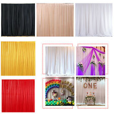 Wedding Party Backdrops Curtain Drape Studio Photography Background Wall Decor