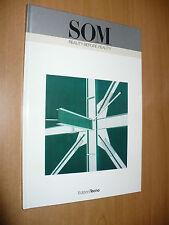 SOM REALITY BEFORE REALITY EDIZIONI TECNO 1990 INTRODUZIONE PETER MURRAY