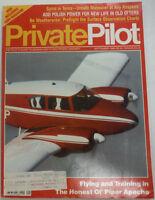 Private Pilot Magazine Piper Apache Flying September 1988 FAL 060515R2