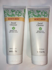 NEW Burt's Bees Sensitive Facial Cleanser, 6 oz, TWO PACK!Free Next Day Shipping