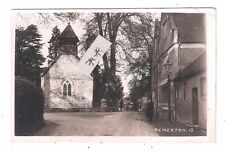 RP Bemerton Church & Building & Lampost Salisbury Suburbs Wiltshire used 1920's