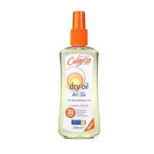 Calypso Sun Dry Oil for Wet & Dry Skin - Body & Scalp - 200ml - SPF 30 (UVA UVB)