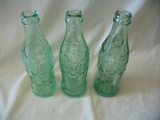 Three Nice Collectible MISSOURI Coke Soda Bottles--Joplin,Bolivar,Macon