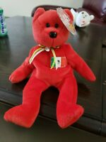 RARE TY-Beanie Baby Osito Mexico Bear  NEW Excellent Condition With Errors
