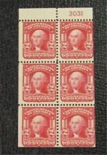 nystamps US Stamp # 319g Mint OG NH $500 With Plate Number