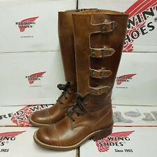 RED WING SHOES 9065 Buckle women's leather boots UK 3,5 US 6 EUR 36 (pv:599$)
