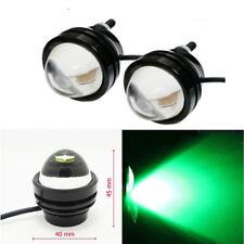 2 Green 5W Car SUV Driving Fog Light Daytime Running Work DRL Tail Lamp 12V