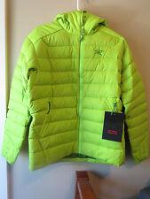Mens New Arcteryx Thorium AR Hoody Jacket Size Small Color Mantis Green