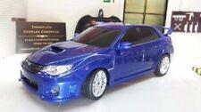 Coche de automodelismo y aeromodelismo color principal azul Subaru