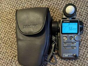 Sekonic L608 Super Zoom Digital Display Meter