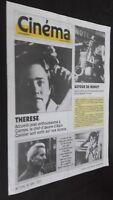 Revista Semanal Cinema Semana de La 24A 30 Siete 1986 N º 369 Buen Estado
