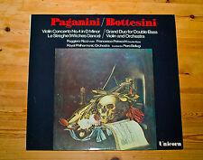 UNICORN RHS304 Ruggiero Ricci/Petracchi/Bellugi/Paganini/Bottesini/England Press