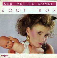 ZOOF BOX UNE PETITE BOMBE / PETITES PENSEES D'ITALIE FRENCH 45 SINGLE