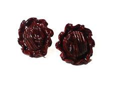 Bijou lucite boucles d'oreilles clips La Rose Pourpre Paris  earring