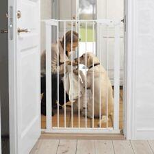 BabyDan Extra Tall Pressure Baby Child Pet Dog Safety Stair Gate White 73-80cm