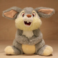 "Thumper 14"" Soft Toy, Disney Store, Bambi, Grey Bunny Rabbit Cuddly Plush, VGC"