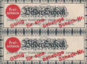 Bilderscheck Sammelbilder Freischeck Cigaretten-Bilderdienst Zigarettenbilder