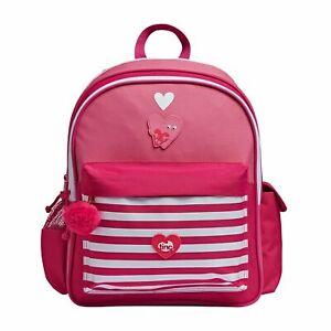 Kids Unisex School Bag Girl's Backpack Travel Junior Rucksack - Pink