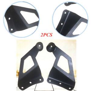 Black Car Upper Pole Mounting Bracket Roof LED Light Bar Bracket