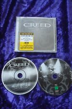 CD CREED GREATEST HITS 2 CD SET,ROCK.METAL.CLASSIC.HEAVY.CD AND DVD SET.