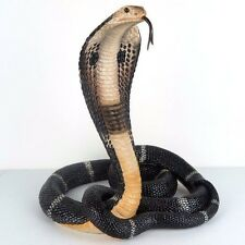 """King Cobra Snake Detailed Collectible Figurine Miniature Statue 13""""H New in Box"""