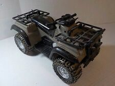 "GI Joe Hall of Fame Lanard THE CORPS 12"" 1/6 ATV Four Wheeler Vehicle"