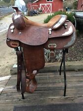 Billy Cook Show Saddle , 16""