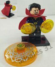 Figurine Marvel DC Comics Docteur Strange compatible Lego, neuf CE minifigur .